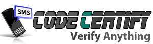 CodeCertify.Com Ultimate Sms Verify platform